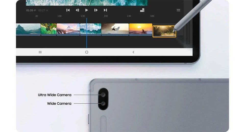 Samsung Galaxy Tab S6 Dual Main Camera
