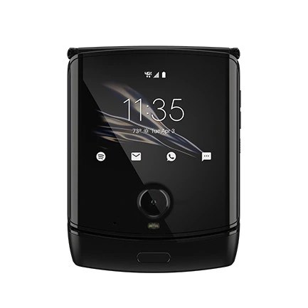 Motorola Razr Folded QuickView and Camera