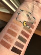 Colourpop FAME palette swatches