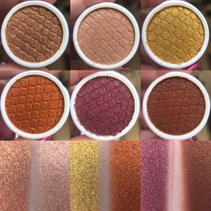 Colourpop BACK TO SCHOOL swatches