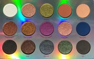 Colourpop x Disney Villians MISUNDERSTOOD palette