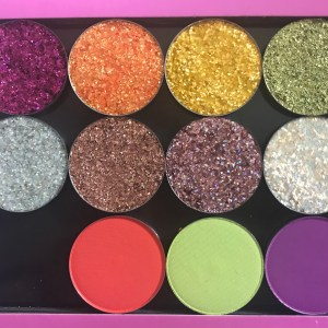 Colourpop Festival Themed Pressed Glitters and Pigments