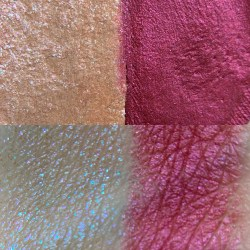 Colourpop MOON + SWOON Super Shock Shadow Swatch and Photo