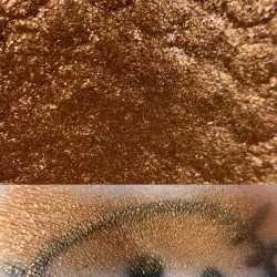 Colourpop PUPPUCCINO Super Shock Shadow swatch and photo