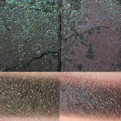 Colourpop SHAMELESS / BAE Super Shock Shadow swatch and photo