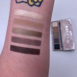 COLOURPOP BALLAD eye shadow palette swatches