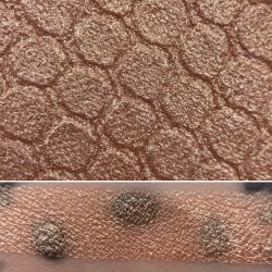 Colourpop HOW FAR I'LL GO Super Shock Shadow Swatch and Photo from the Disney Heart of Gold vault