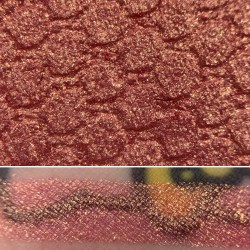 Colourpop ONCE UPON A DREAM Super Shock Shadow Swatch and Photo from the Disney Heart of Gold vault