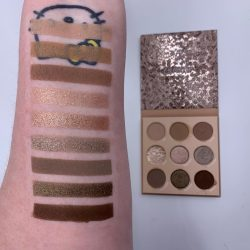 Colourpop THAT'S TAUPE palette and swatches