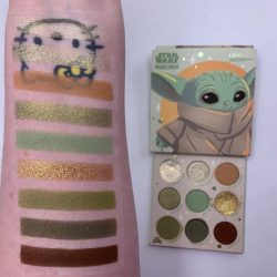 Colourpop THE CHILD palette and swatches