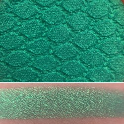 Colourpop UNDER THE SEA Super Shock Shadow Swatch and Photo from the Disney Heart of Gold vault