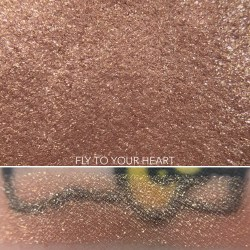 Colourpop FLY TO YOUR HEART Super Shock Shadow swatch and photo
