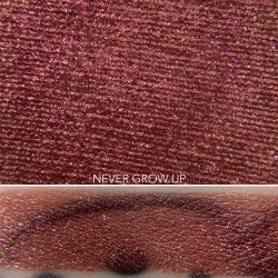 Colourpop NEVER GROW UP Super Shock Shadow swatch and photo