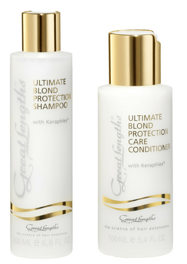 Great Lengths Ultimate Blond care