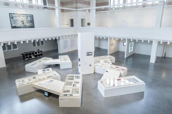 Вид экспозиции выставки в Жилине. 2018
