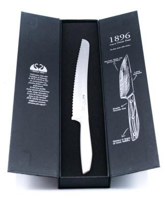 Due Cigni Pane 22cm Bianco-coltellipersonalizzati.com