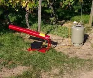 Come allontanare i piccioni e gli uccelli-protezione ad aghi metallici-detonatore a gas propano