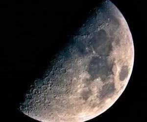 Ciclo lunare - quarto crescente