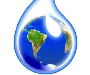 Il ciclo dell'acqua e la progettazione dell'orto in permacultura - goccia d'acqua