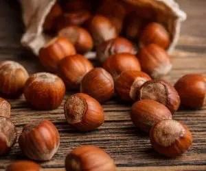 Alimenti che contengono calcio: nocciole