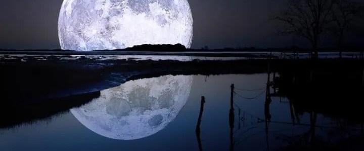 Super luna del mese di febbraio
