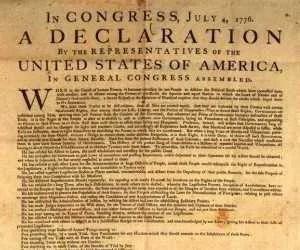 Costituzione americana in carta di canapa