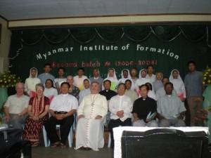 Sister Mary Ita O'Brien seated front row