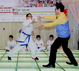 Music or Taekwondo - nothing is impossible!