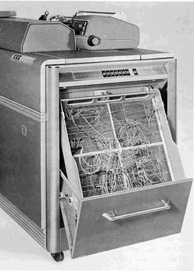 IBM 407-Bedienfeld