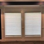 Norman Shutters On Front Door Sidelights Columbia Blinds