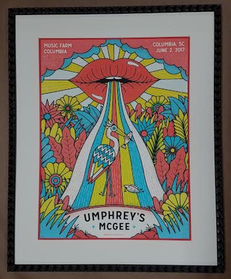 umphrey s mcgee poster from music farm