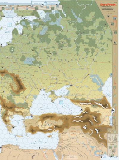 El mapa del East Front (2ª edición)