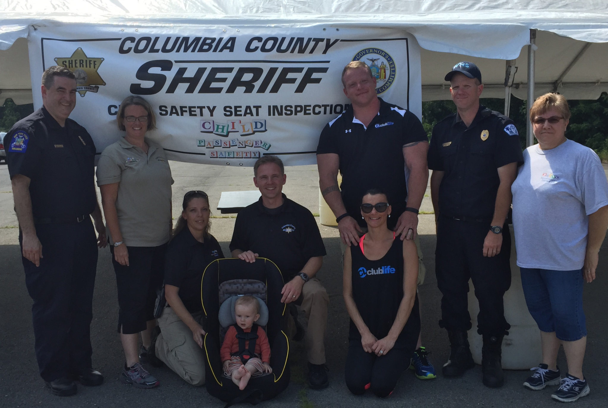 Child safety seat event deemed success - The Columbia Paper