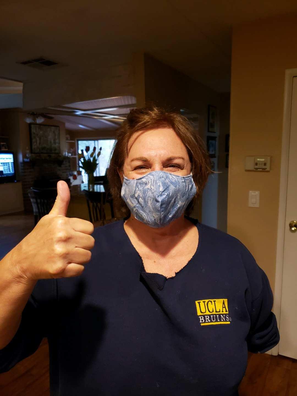 Repair Clark County volunteers sew masks