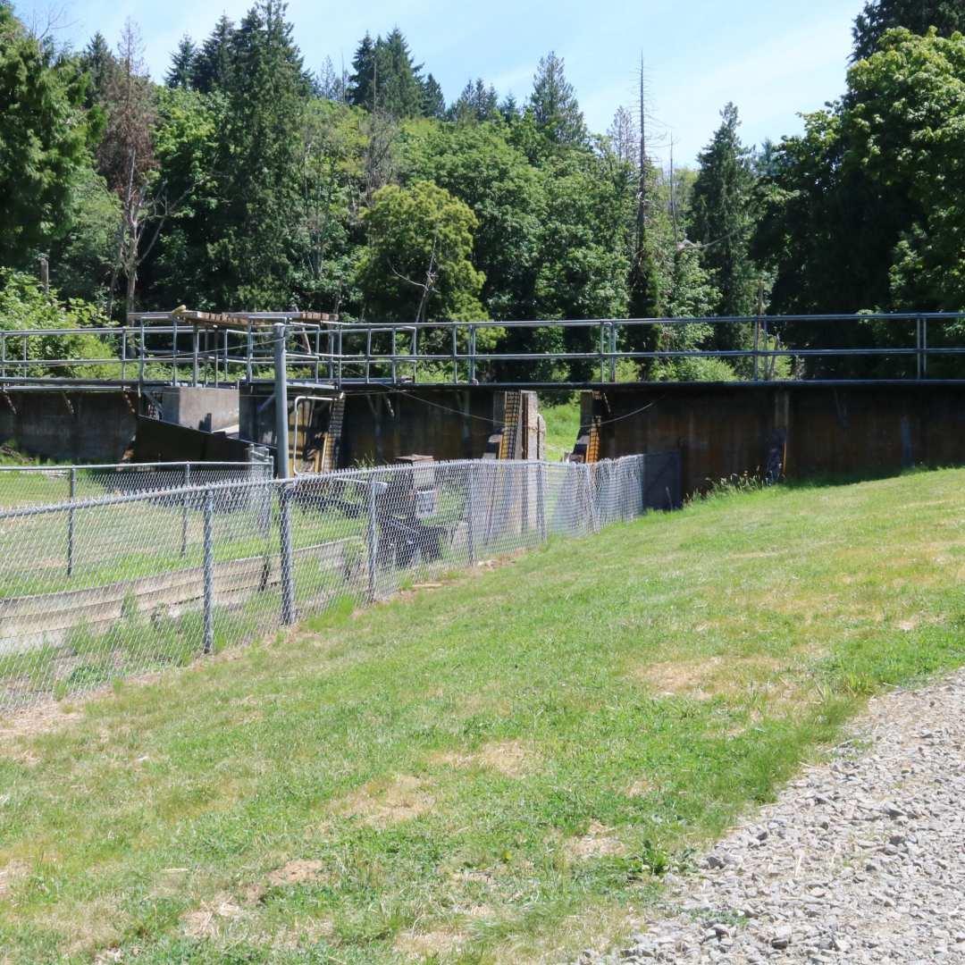 West Biddle Lake Dam