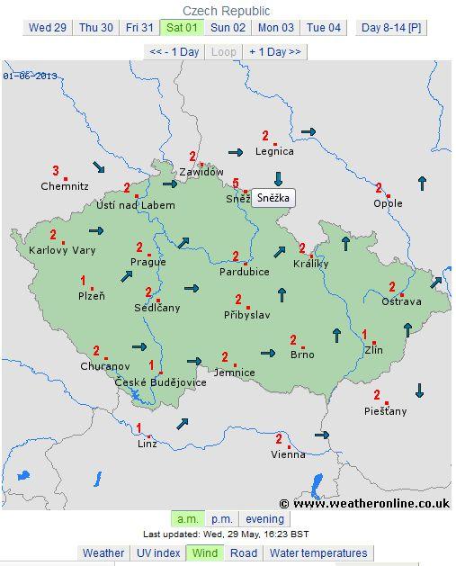 harta vant cehia 1 iunie
