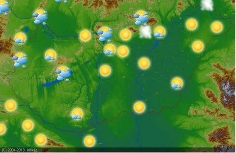 vremea in ungaria 04.05.2013