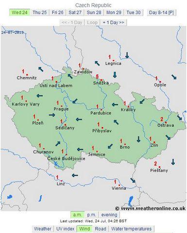 cehia dimineata 27 iulie 2013 directia vantnului