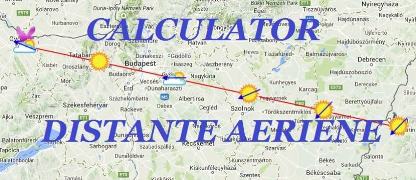 distanta aeriana 22