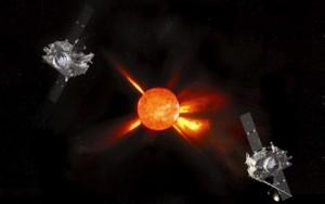 Explozia solara fotografiata de sateliti Solar Dynamics Observatory al NASA