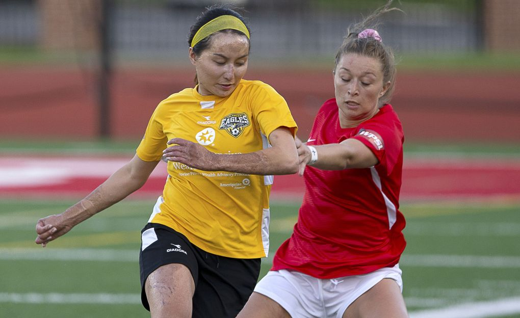 Lisa Nouanesengsy and the Eagles fell 1-0 to Motor City on Sunday | Daniel Herlensky