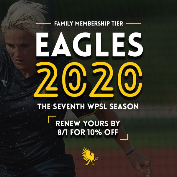 The Eagles' 2020 family membership tier is $100
