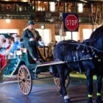 Take a romantic ride around the Town with Easton Winter Carriage Rides