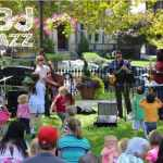 PBJ & Jazz free kids concerts at Topiary Park
