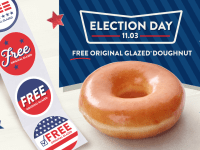krispy kreme election day
