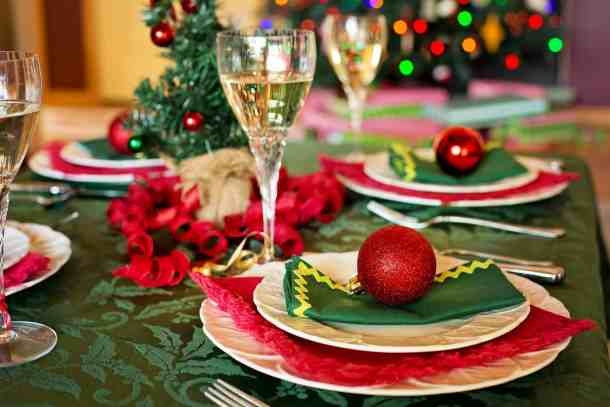 christmas dinner pixabay restaurants open on Christmas Eve
