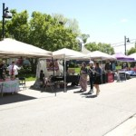 Shop local at the Spring Powell Street Market