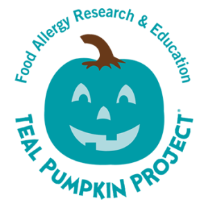 teal pumpkin project, food allergy research and education