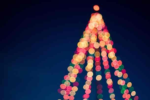 christmas tree kings island winterfest Tree Lightings and Holiday Celebrations in Columbus