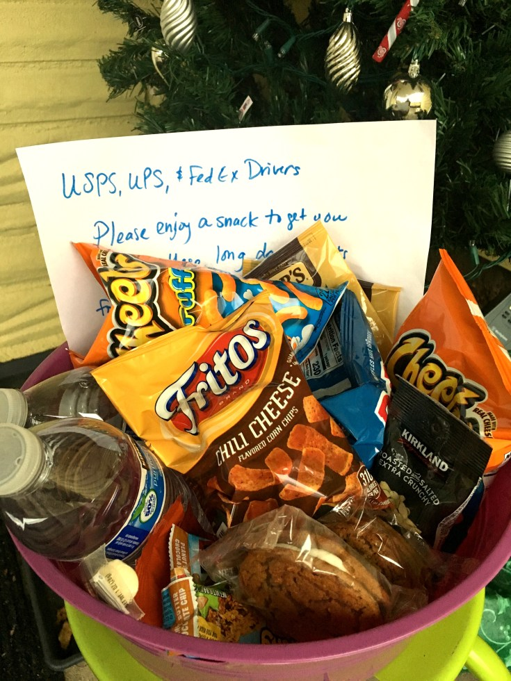 Gifts for mail carrier and delivery drivers